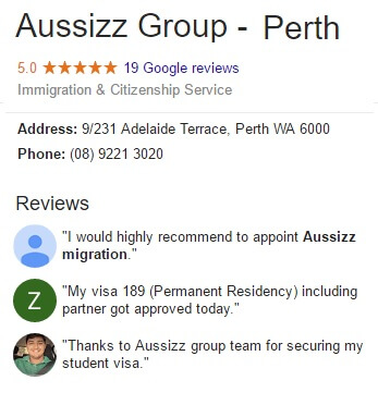 Aussizz Group Perth G+ Reviews