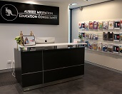 Aussizz Group Perth Office receptionist area