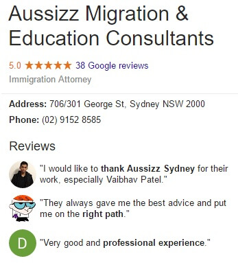 Aussizz Group Sydney G+ Reviews