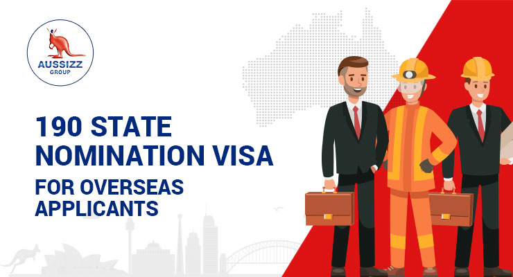 190 State Nomination Visa for Overseas Applicants