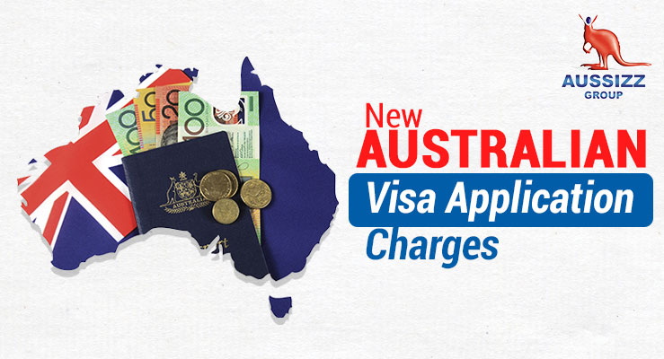 Updates in the Australian Visa Application Charges Announced