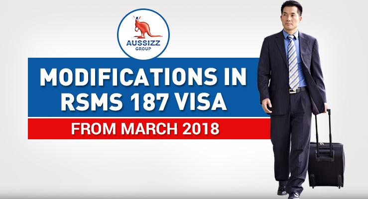 Major Incoming Changes in the 187 Visa (RSMS) from March 2018