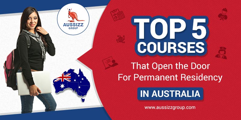 Top 5 Courses that Open the Door for Permanent Residency in Australia