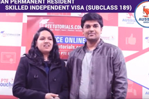 Congratulations Milisha & Chintan for Australian Permanent Residency