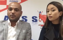 Live video consultation for education and migration - Karan & Trishna | Date 25th February 2016