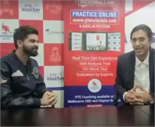 PTE Master Trainer Malcolm in a conversation with Ashish Raghav - PTE - 89/90 Overall.