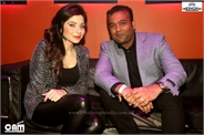 With Kanika Kapoor
