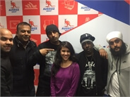 With Dr. Zeus , Shortie , Fateh and Zora
