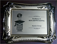 Excellence in IELTS and PTE Coaching