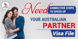 Need corrective steps to speed up your Australian Partner Visa file!