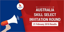 SkillSelect Invitation Round Results 21 February 2018