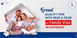 Spend quality time with near and dear on family visa in Australia!