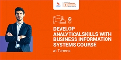 Develop analytical skills with Business Information Systems course at Torrens