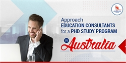 Approach Education Consultants for a PhD study program in Australia