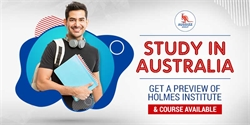 Study In Australia: Get a preview of Holmes Institute & course available